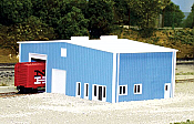 Pikestuff 8012 - N Distribution Center (Scale: 70 x 40ft) - Blue