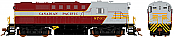Rapido 32529 HO MLW RS-18 DRS-18b Canadian Pacific (Block Lettering) DCC & Sound- 8786 Taking Orders Now