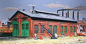 Walthers Cornerstone 3007 - HO 2-Stall Enginehouse - Kit