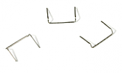 "BLMA Models 4511 HO 18"" Drop Grab Irons (60) - .008"" wire"