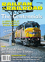 Railfan & Railroad Magazine August 2013