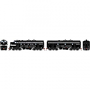 Athearn Genesis G19540 HO Scale - F7 A/B EMD F-Unit Diesel - DCC & Sound - New York Central/ Freight #1843/3465