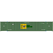 Atlas 20005943 HO 53ft CIMC Container Set, EMP Large Logo Set #1