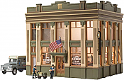 Woodland Scenics 5033 - HO Built-&-Ready Landmark Structures - Citizens Savings & Loan Bank