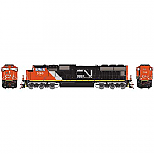 Athearn Genesis G69569 - HO SD751 - w/DCC and Sound - CN/w/Web Address Logo #5763