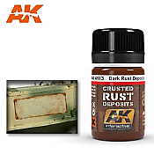 AK Interactive 4113 - Dark Rust Deposits