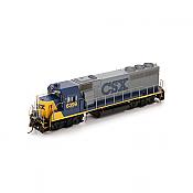 Athearn G40877 HO GP40-2 w/DCC & Sound - CSX/YN2 #6399