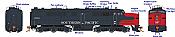 Rapido 23538 HO - PA-2 + PB-2 Locomotive Set - DCC & Sound - Southern Pacific (Bloody Nose) #6045+5924