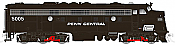 Rapido 14530 HO EMD FL9 DCC & Sound, Penn Central (Black) #5005