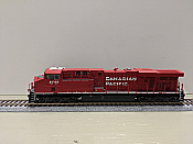 Athearn G83128 - HO Scale ES44AC - DCC/Sound - Canadian Pacific w/PTC #8753