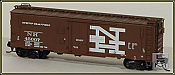 Eastern Seaboard Models N Scale 40 Ft Insulated Boxcar - New York, New Haven & Hartford 45083