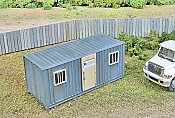 Walthers SceneMaster Construction Site Mobile Office Kit