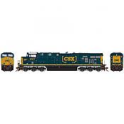 Athearn G83139 HO Scale ES44DC - w/DCC & Sound - CSX WM Heritage #5327 Pre-Order