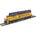 Atlas 10002787 HO - SD35 Low Nose - DCC & Sound - Master Gold - Chessie [Torco] #7802