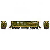 Athearn Genesis G78170- HO GP9 Diesel - DCC Ready - Grand Trunk Western #4438