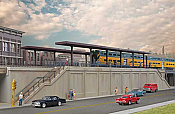 Walthers 4563 HO Cornerstone Elevated Commuter Station