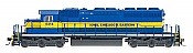 Intermountain Railway Diesel EMD SD40-2 DCC Installed Iowa, Chicago & Eastern #6404