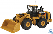 Walthers 10004 - HO Scale - Caterpillar 966k Wheel Loader - Assembled - Yellow, Black