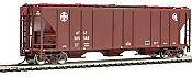 Walthers Mainline 7267 HO 54 Ft PS 4427 CD Covered Hopper Santa Fe No.305043