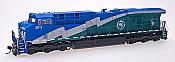 Intermountain Railway Diesel GE Evolution Series ES44DC Powered DCC w/SoundTraxx Tsunami Sound General Electric Demonstrator 2011