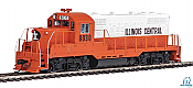 Walthers Mainline 20425 - HO EMD GP9 Phase 2 w/Chopped Nose - DCC/Sound - Illinois Central #9174
