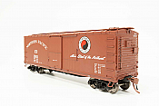 Rapido 130019-4 HO - 40ft NP 10000-series boxcar: Northern Pacific 1950 Large Monad Mainstreet Scheme #13248