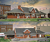 Walther's Cornerstone City Station - Plastic Kit