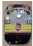 Stoddarts Ltd. 1430 - 3D Railroad Wall Artwork - Canadian Pacific FP7 #1430