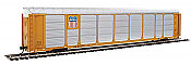Walthers Proto 101434 - HO 89ft Thrall Enclosed Tri-Level Auto Carrier - Union Pacific/SP Flat #517378