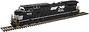 Atlas 10 002 275 HO Dash 8-40CW Locomotive Silver DCC Ready Norfolk Southern(Horsehead) No 8376