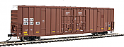 Walthers 2946 Mainline HO 60ft High Cube Plate F Boxcar - TTX TBOX #889374