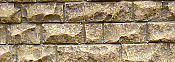 Chooch Enterprises Flexible Cut Stone Wall w/Self-Adhesive Backing Medium Cut Stones