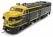 Rapido 21530 HO Alco/MLW FA-2 ESU Loksound DCC and Sound - Erie 7394