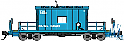 Bluford Shops 34361 HO Scale Transfer Caboose Rock Island Blue #19125