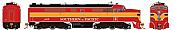 Rapido 23534 HO - PA-2 + PB-2 Locomotive Set - DCC & Sound - Southern Pacific (Daylight) #6037+5918