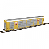Atlas 20005670 - HO Gunderson Multi-Max Auto Rack - Kansas City Southern #696033