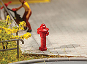 Walthers 4143 HO SceneMaster - Fire Hydrants - 10 pk