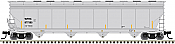 Atlas 20006033 HO ACF 5800 Plastics Hopper Wells Fargo Rail (WFRX)#877585
