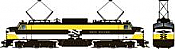 Rapido 84515 HO - EP-5 Electric Loco - DCC & Sound - New Haven, Yellow #372