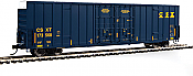 Walthers 2935 Mainline HO 60 Ft High Cube Plate F Boxcar - CSX Transportation #173564
