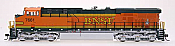 Intermountain Railway Diesel GE Evolution Series ES44DC Burlington Northern Santa Fe (BNSF) #7661 DCC and Sound