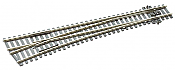 Peco Code 100 SL 88 Streamline Large Radius Right Hand, Insulfrog HO Scale Track