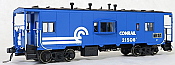 Tangent Scale Models 60113-02 - HO N7 Class Steel Bay Window Caboose - Conrail (Blue Repaint 1976+) #21643