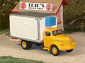 Sylvan Scale Models 310 HO Scale - 1940-49 REO Speedwagon Refrigerated Truck - Unpainted and Resin Cast Kit