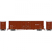Athearn 75130 HO Scale - RTR 60Ft Gunderson DD HC Box, BNSF/Wedge #761217