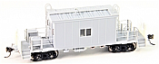Bluford Shops 35000 HO Scale Transfer Caboose With Running Board Undecorated