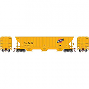 Athearn 18767 - HO RTR PS 4740 Covered Hopper, C&NW/Yellow 753808