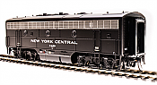 Broadway Limited 4867 HO Scale EMD F7B NYC Short Lightning Stripe Paragon3 Sound/DC/DCC No.2421