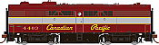 Rapido 22513 HO - DC/DCC/Sound - MLW FPB-2 Canadian Pacific #4464 - Pre-order