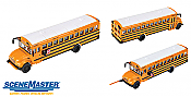 Walthers 11701 HO SceneMaster International(R) CE School Bus - Assembled - Yellow